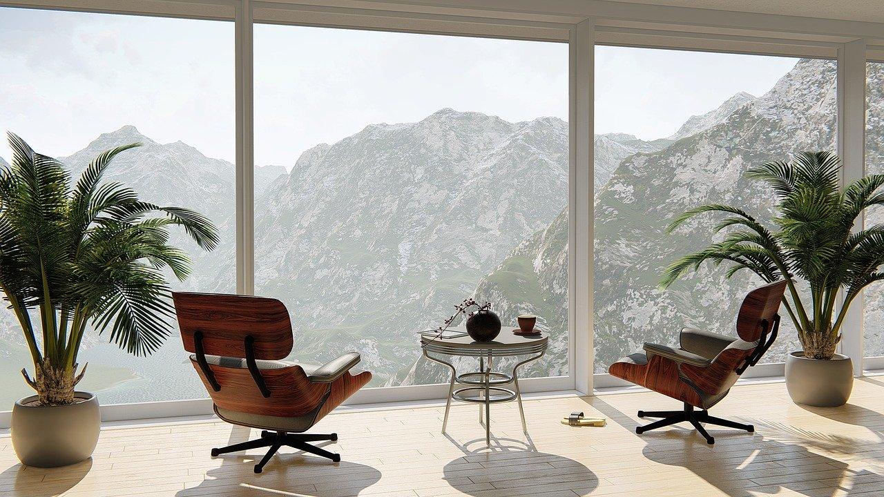 apartment, view, interior